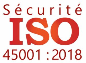 Logo ISO 45001 version 2018